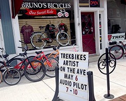 Trek Bikes Artist on the Avenue