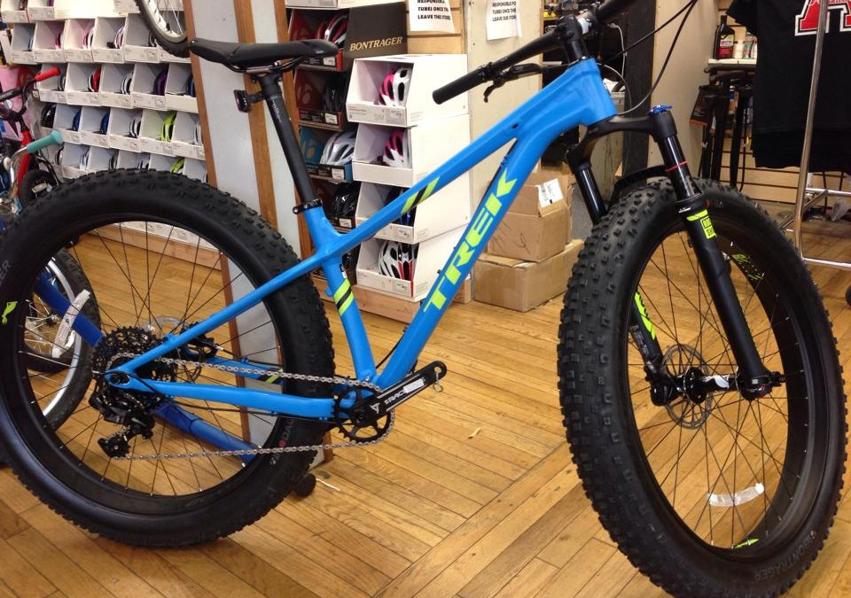 Trek Farley 9 is in! This in One Sweet Ride!